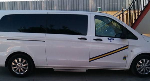 taxi de 9 plazas